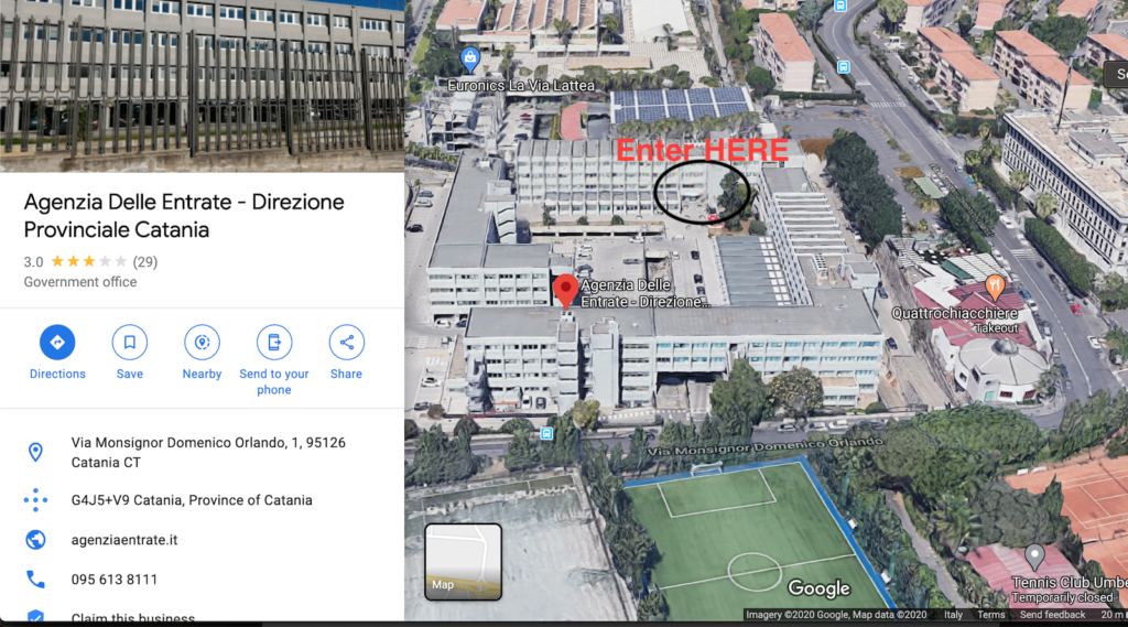 Agenzia delle Entrate Catania